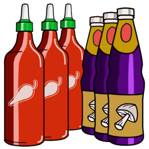 Bottle Sauces 醬汁類