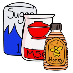 Sugar, Salt & MSG